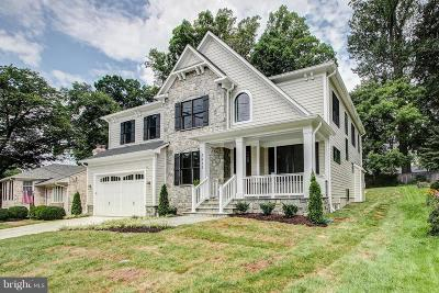 Bethesda Single Family Home For Sale: 5813 Ridgefield Road