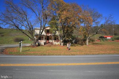 Flintstone Single Family Home For Sale: 27401 National Pike