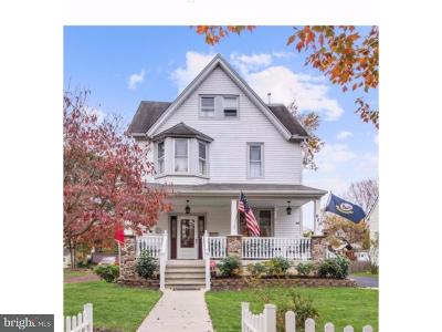 Moorestown Single Family Home For Sale: 420 E 3rd Street