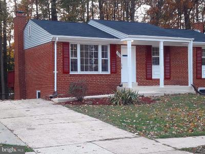 Clinton MD Single Family Home For Sale: $324,990