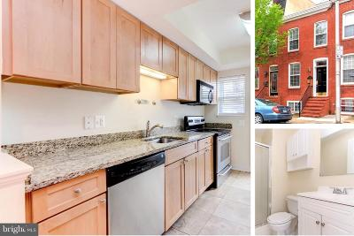 Federal Hill Townhouse For Sale: 507 Fort Avenue E