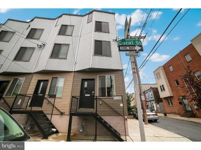 Philadelphia County Townhouse For Sale: 2223 Coral Street
