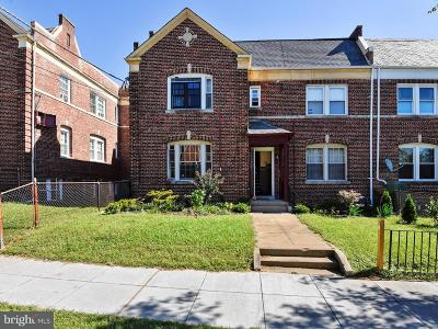 Brookland Single Family Home For Sale: 4013 8th Street NE #1