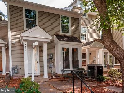 Centreville, Clifton Townhouse For Sale: 5930 Havener House Way