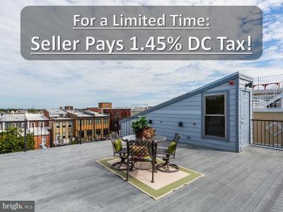 Washington Townhouse For Sale: 1333 Euclid Street NW #PH-3