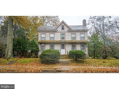 Pennington Single Family Home For Sale: 30 W Delaware Avenue