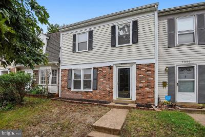 Manassas Townhouse For Sale: 9059 McClellan Comn