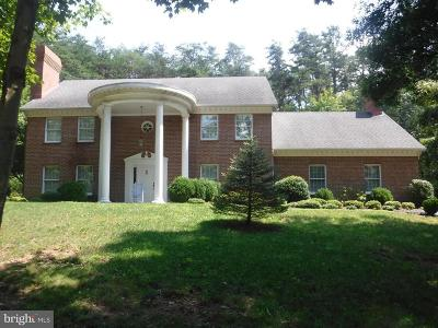 Berkeley Springs Single Family Home For Sale: 314 Shirley Drive