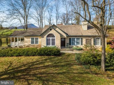 Rappahannock County Single Family Home For Sale: 13895 Crest Hill Road