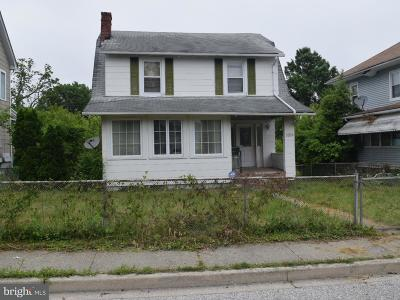 Baltimore MD Single Family Home Under Contract: $80,000