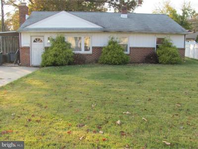Gloucester City Single Family Home For Sale: 205 Weston Avenue