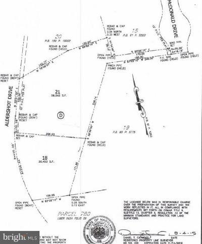 Bethesda Residential Lots & Land For Sale: 9101 Aldershot Drive