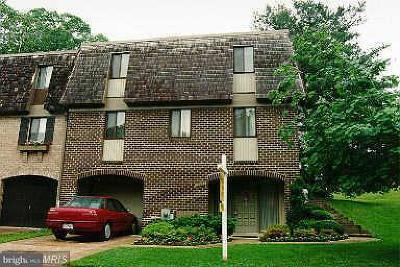 Montgomery Village Townhouse For Sale: 19501 Worsham Court