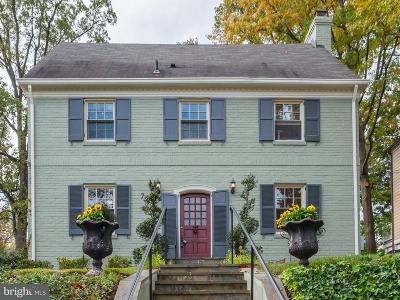 Bethesda Single Family Home For Sale: 7818 Custer Road