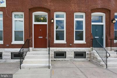 Baltimore City Townhouse For Sale: 331 20th Street E