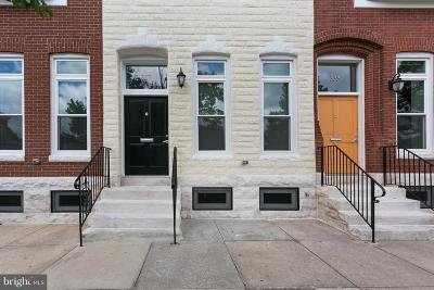 Baltimore City Townhouse For Sale: 337 20th Street E