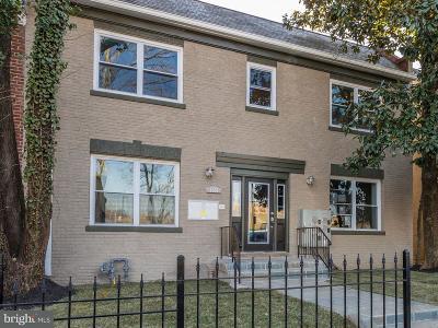 Washington Townhouse For Sale: 1363 Childress Street NE #3