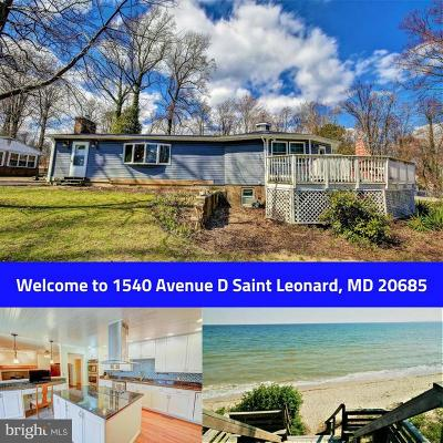 Saint Leonard Single Family Home For Sale: 1540 Avenue D