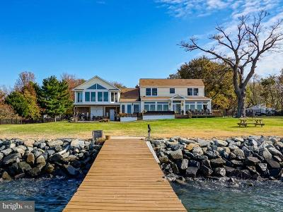 Kent Island Estates Single Family Home For Sale: 406 Bay Drive