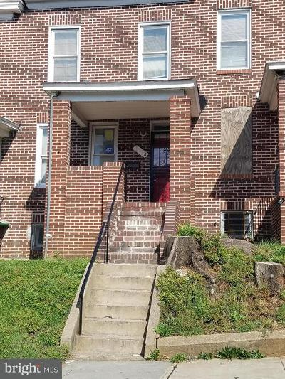 Baltimore MD Townhouse For Sale: $69,990