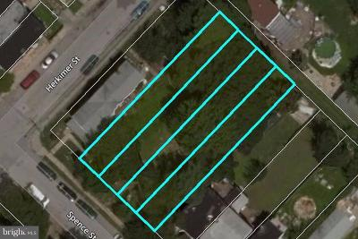 Baltimore City Residential Lots & Land For Sale: Spence Street