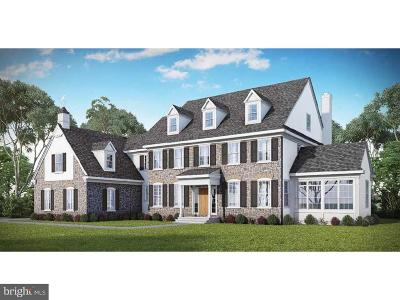 Glen Mills Single Family Home For Sale: Lot 4b Creek Road