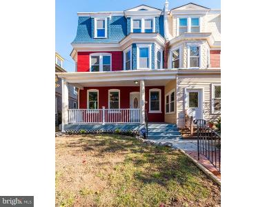 Wilmington Townhouse For Sale: 607 W 19th Street
