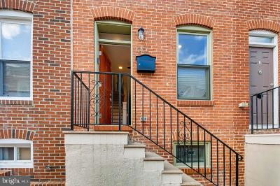 Baltimore City Townhouse For Sale: 120 Bradford Street N