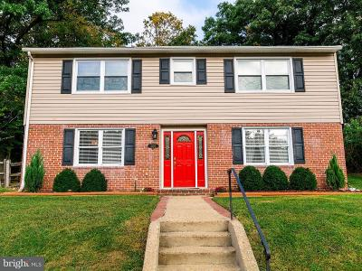 Catonsville Single Family Home For Sale: 2406 Old Frederick Road