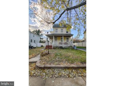 Mount Holly Single Family Home For Sale: 220 Clifton Avenue