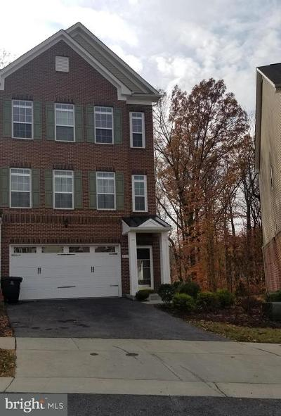Westphalia Row Townhouse For Sale: 9519 Westerdale Drive