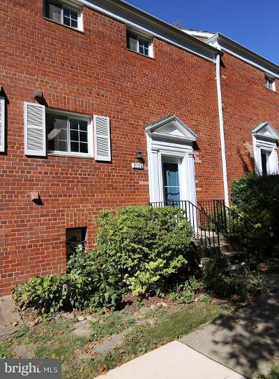 Alexandria Townhouse For Sale: 3132 Wellington Road
