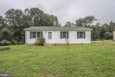 Warrenton Single Family Home For Sale: 9279 Springs Road