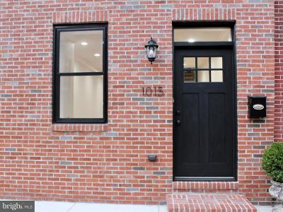 Baltimore Townhouse For Sale: 1015 Streeper Street