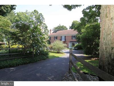 Media Single Family Home For Sale: 908 Penn Valley Road