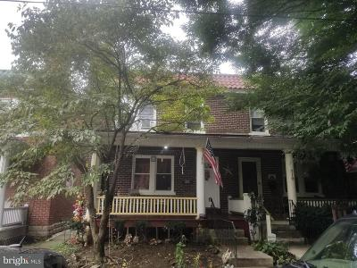 Lancaster PA Single Family Home For Sale: $119,900