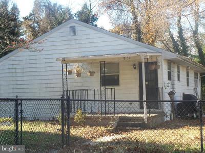 Glen Burnie Single Family Home For Sale: 8131 Oakwood Road