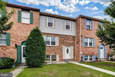 Owings Mills Townhouse For Sale: 10 Tatler Place