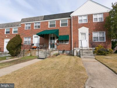 Parkville Townhouse For Sale: 7803 Hillsway Avenue