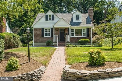 Baltimore Single Family Home For Sale: 521 Brook Road