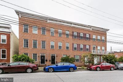 Locust Point Townhouse For Sale: 1204 Hull Street
