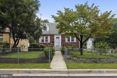Takoma Park Single Family Home For Sale: 7305 Garland Avenue