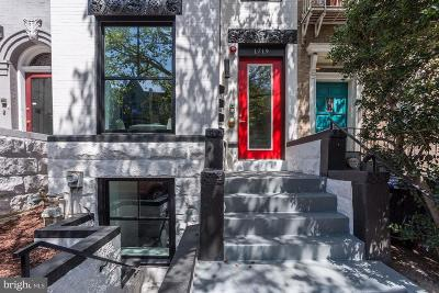 Washington Multi Family Home Active Under Contract: 1719 U Street NW