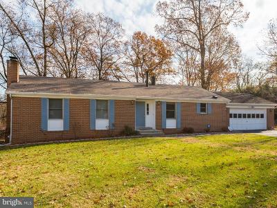 Beltsville Single Family Home For Sale: 4505 Franklin Terrace
