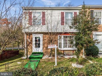Alexandria Townhouse For Sale: 6401 Silver Ridge Circle