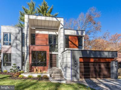 Chevy Chase Single Family Home Active Under Contract: 2715 Tennyson Street NW