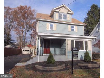 Hightstown Single Family Home For Sale: 140 South Street