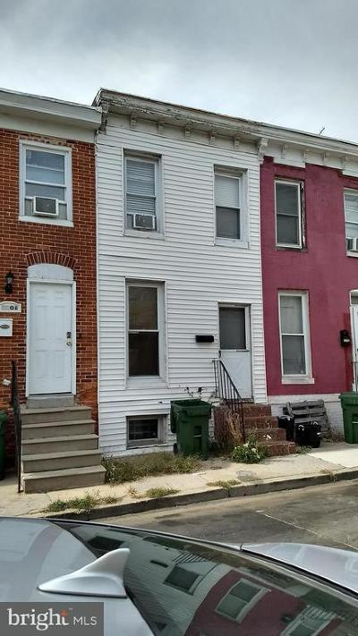 Baltimore Townhouse For Sale: 1210 Spring Street
