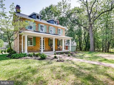 Baltimore Single Family Home For Sale: 7106 Charles Spring Way