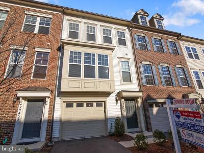 Clarksburg Townhouse For Sale: 22453 Glenbow Way
